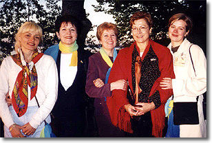 Partz ukrainian delegation